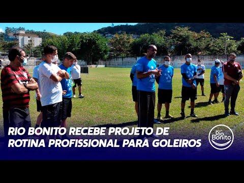 RIO BONITO RECEBE PROJETO DE ROTINA PROFISSIONAL PARA GOLEIROS
