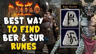 Best Way to Find BER and SUR Runes in Diablo 2 Resurrected / D2R