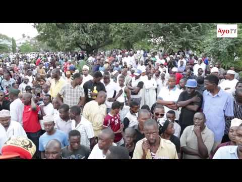 Banza Stone alivyozikwa Dar es salaam July...