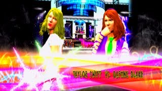 Taylor Swift vs Daphne Blake [Harlot Tourney Final Four] - WWE 13