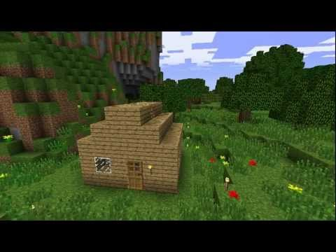 Minecraft Note Building Your First House