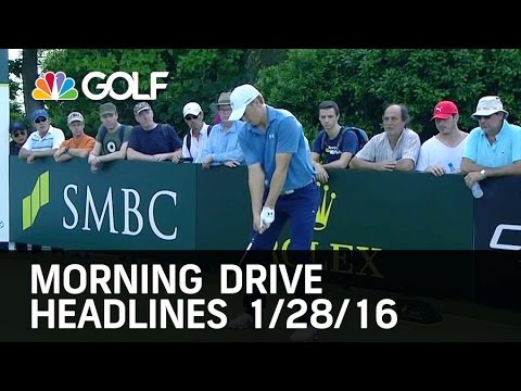 Morning Drive Headlines 1/28/16 | Golf Channel