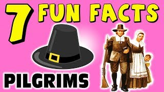 7 FUN FACTS ABOUT PILGRIMS! FACTS FOR KIDS! Plymouth Rock! Thanksgiving! Learning Colors Fun Puppet!