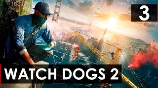 Прохождение игры- Watch Dogs 2 Часть 3 - Знакомство с сиськой!!!