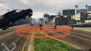 Hard fight against Reverse Flash in GTA 5