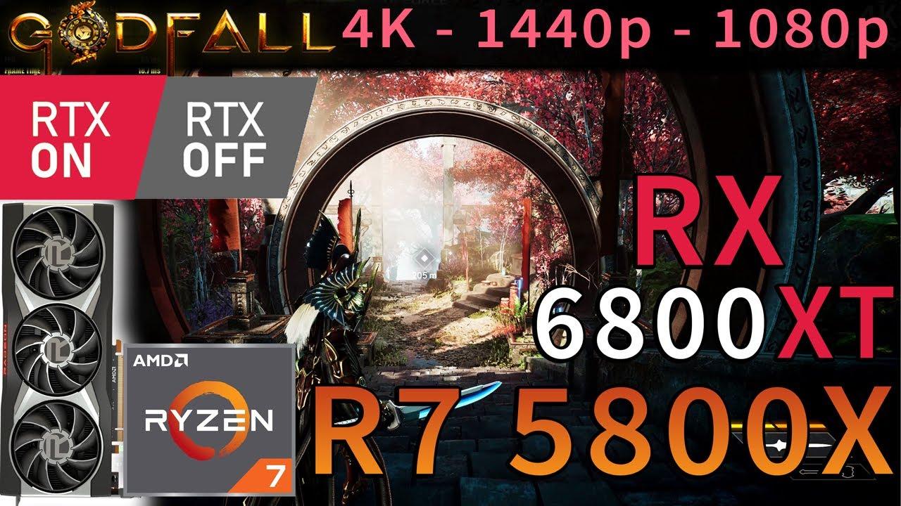 Download Godfall | RX 6800 XT | Ryzen 7 5800X | RAY TRACING ON & OFF | 4K - 1440p - 1080p | Epic Settings