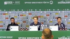 10. Spieltag | SGF - SGD | Pressekonferenz nach dem Spiel