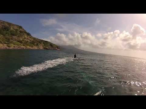 Flyboarding in St-Kitts and Nevis
