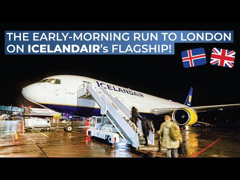 TRIPREPORT | Icelandair (ECONOMY) | Reykjavik Keflavik - London Heathrow | Boeing 767-300ER