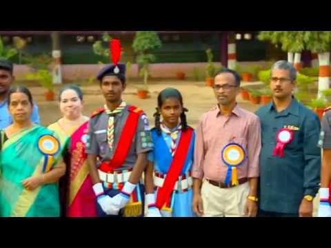 Chief Guest Welcome and Welcome Speech - Kendriya Vidyalaya Coimbatore - Annual Day 2018