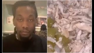 Cardi B Forces Offset To Eat Chitterlings