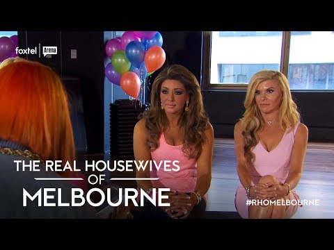 Season 3 Exclusive: Gamble visits Gina | The Real Housewives of Melbourne