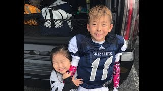 Tough Game For Our Pee Wees   EP. 26   Football 2018   TigerFamilyLife~