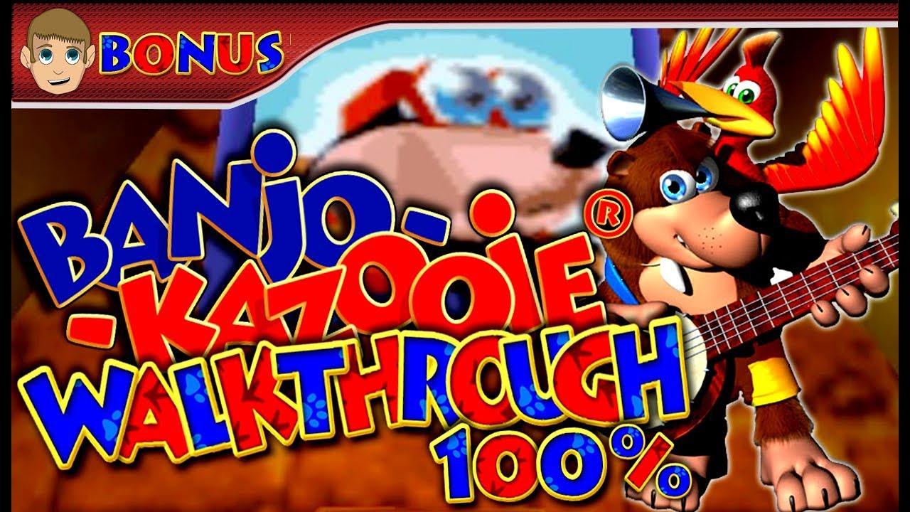 Banjo-Kazooie - 100% Walkthrough - Part 21 (BONUS 1/2) Bottles' Secret Puzzles (6/7) [1080p HD]