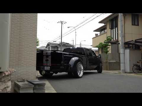 Ford F350 SUPER DUTY Truck Dually フォード F-350 Sony α6500 RECON American Force 26's DJM LOWERD 4K