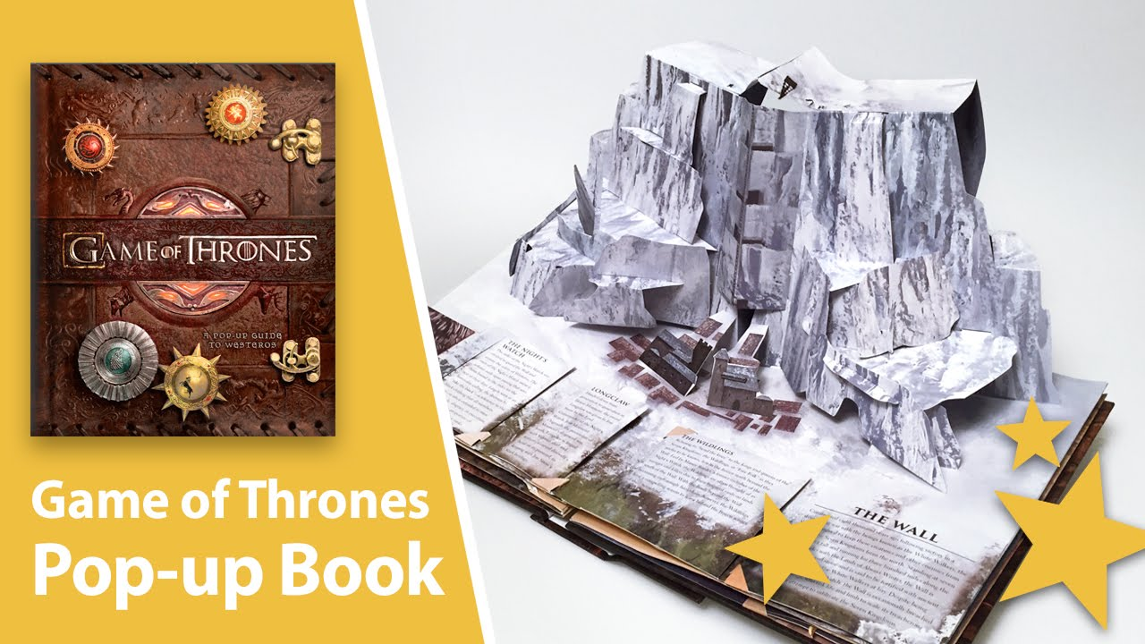 Game of thrones pop up book with giant map of westeros youtube gumiabroncs Image collections
