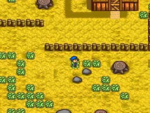 Super Nintendo Entertainment System Harvest Moon (USA)