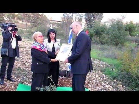 Albanian Prime Minister Plants an Olive Tree in Jerusalem