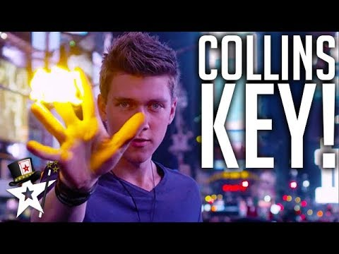 Youngest Magician Finalist | Collins Key | America's Got Talent | Magicians Got Talent