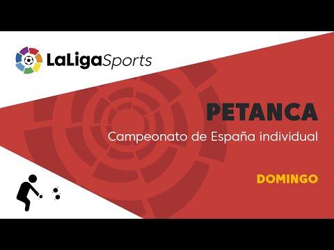 📺 Campeonato de España individual de petanca - Domingo