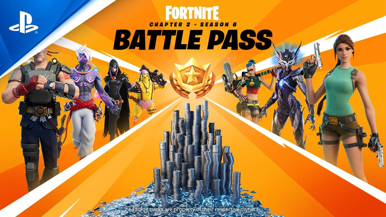 Fortnite - Season 6 Battle Pass-trailer | PS5, PS4