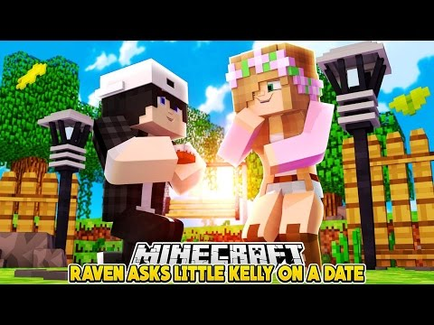 FIRST DATE WITH LITTLE KELLY? | Minecraft Custom Roleplay | RAVEN'S LOVE STORIES