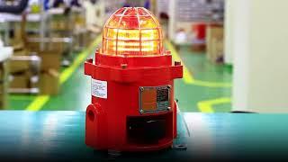 QNES, 외경 92mm 소형 내압 방폭형 경고등/ 표…