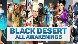 BLACK DESERT ALL AWAKENINGS WEAPONS 1080P 60FPS