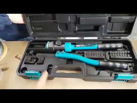 Hydraulic Crimping and Swage Tool for Steel Wire Rope Balustrade ...