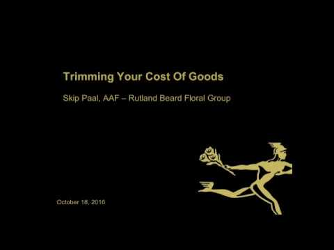 FTD Webinar Series [Finance]: Trimming Your Cost of Goods