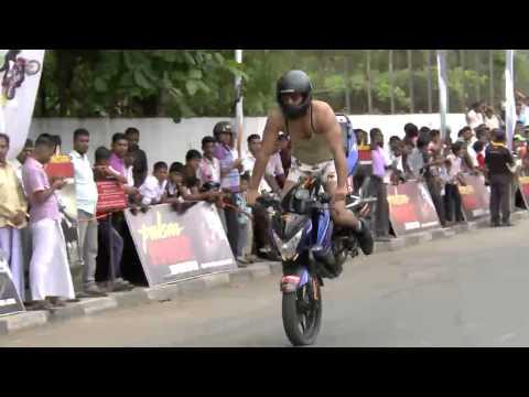 Pulsar Power Stunts Shows 2014