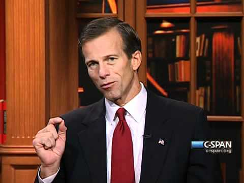 Senator John Thune (R-SD) on C-SPAN