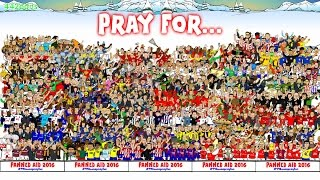 FOOTBALL BAND-AID 2016! Pray for Moyes Wenger Pardew and Leicester! (Football Advent Calendar 2016)