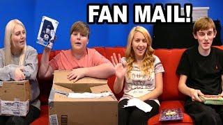 Opening Fan Mail... WITH FANS!
