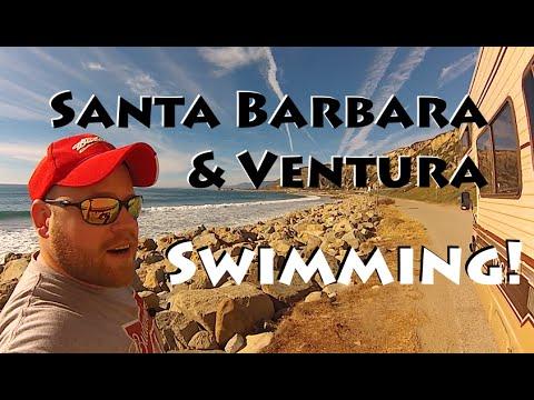 Santa Barbara & Ventura ~ Gone Swimming!