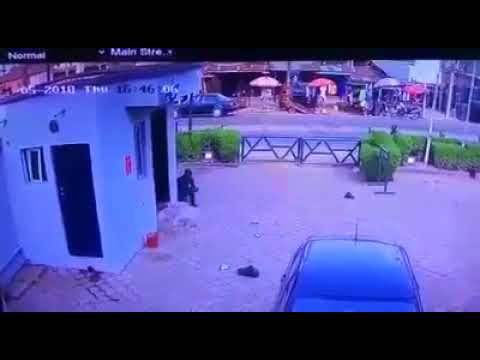 Alleged Video Of Offa, Kwara Bank Robbery