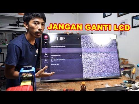 #LCD TV Rusak #Bergaris? Jangan Ganti LCD Dulu VLOG134