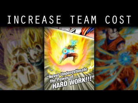 Dragon Ball Z Dokkan Battle: How I Got Higher Team Cost [JPN Updates and Shenron Wishes]