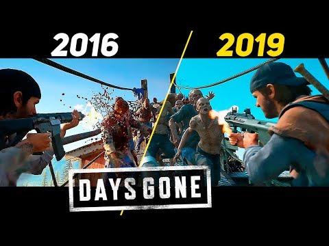 Days Gone - графическое сравнение презентации Е3 2016 с финальной версией
