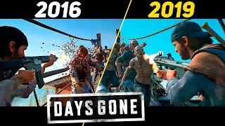 Days Gone - E3 2016 vs 2019