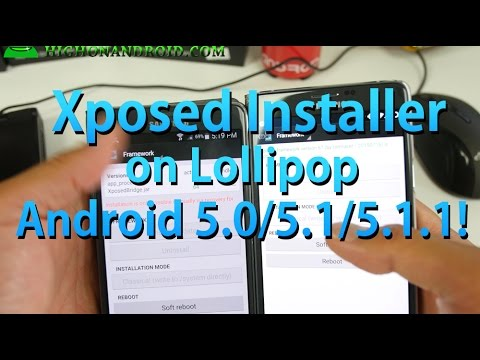 How to Install Xposed Installer on Android Lollipop 5.0/5.1/5.1.1!