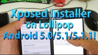 Download lagu How to Install Xposed Installer on Android Lollipop 5.0/5.1/5.1.1!