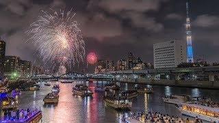 [4K] 2019 隅田川花火大会 Sumida River Fireworks