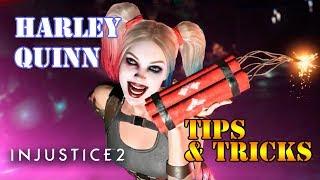 Injustice 2 - Harley Quinn Tips & Tricks