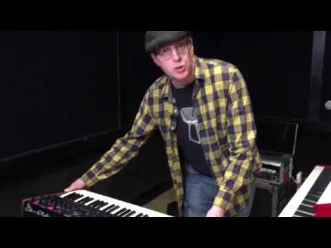 Andy Burton - Keyboard Rig with Cyndi Lauper