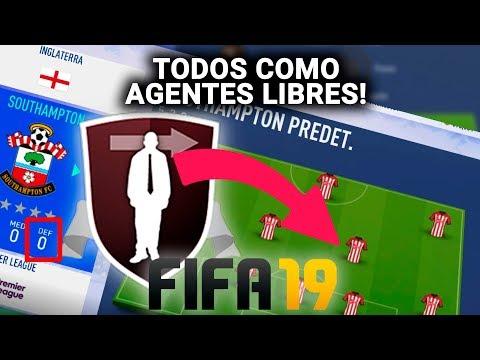 Poniendo a TODOS los JUGADORES como AGENTES LIBRES | FIFA 19 Experimento | ROMPEMOS FIFA 19!!!
