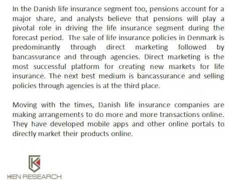 Life Insurance Companies Denmark | Denmark Life Insurance Industry | Ken Research