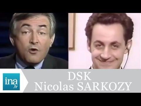 Débat Nicolas Sarkozy et Dominique Strauss-Kahn - Archive INA
