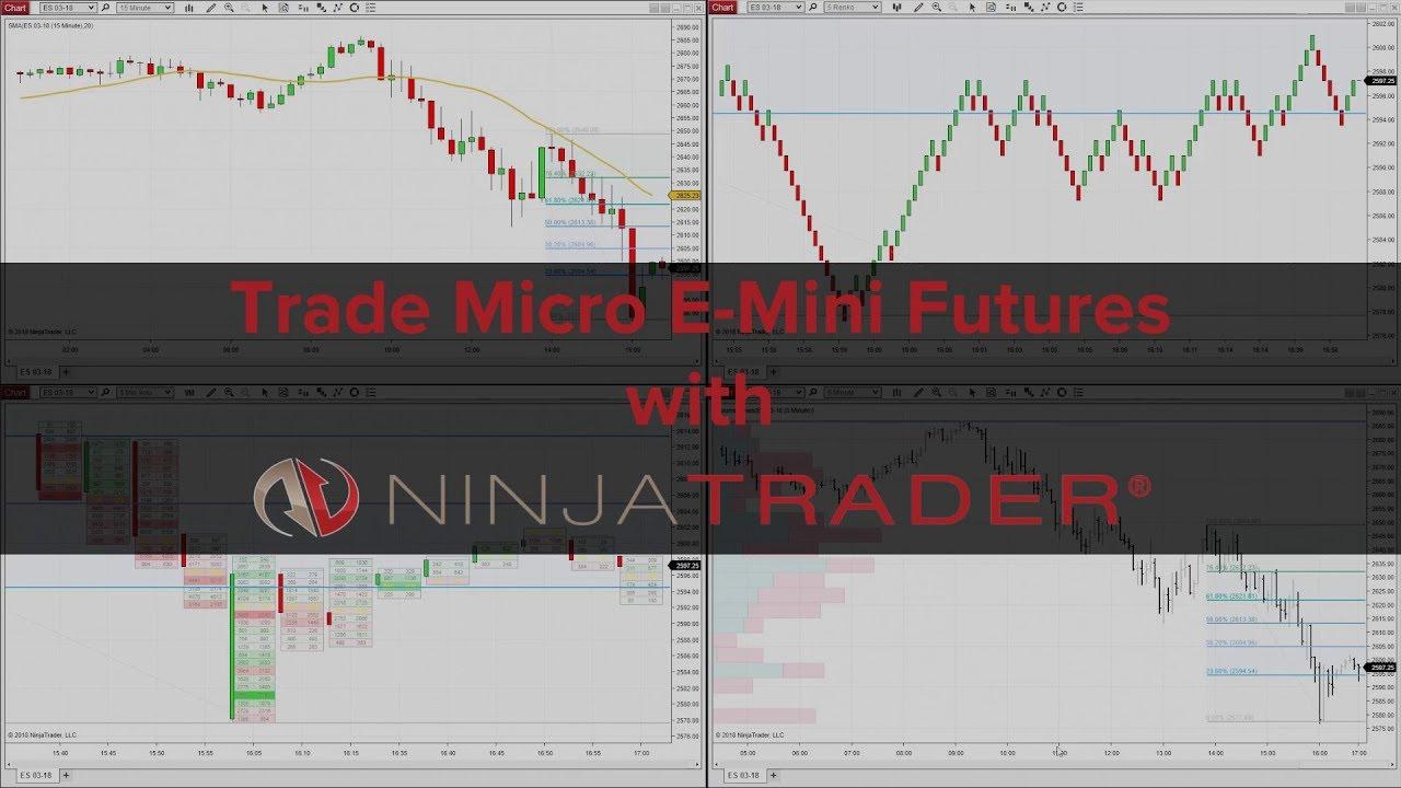 Trade Micro E-mini Futures with NinjaTrader Brokerage