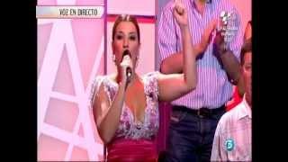 ERIKA LEIVA - CAPOTE DE GRANA Y ORO  ( 7 - 7 - 2012 ).wmv